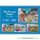 Afbeelding van 500 st - The Village Green (4x) - Trevor Mitchell (door Gibsons)